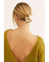 Free People - Straw Bun Pin - Lyst