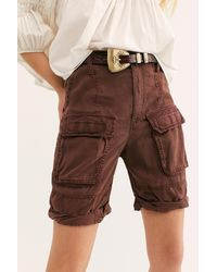 Free People Johannesburg Shorts - Brown