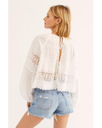 a4b6dcf8 Free People Oneteaspoon Frankies Cutoff Shorts - Lyst