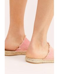 Free People Seaside Espadrilles By Fp Collection - Pink