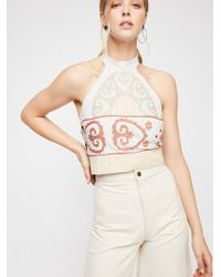 Free People - We The Free Adorn Me Halter - Lyst
