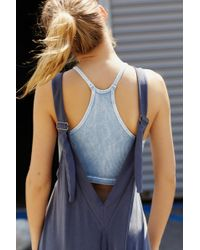 Free People Seven Stars Onesie By Fp Movement - Blue