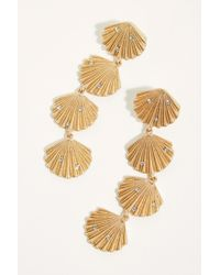Free People - Shells Dangle Earrings - Lyst