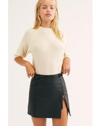 Free People Midnight Magic Skirt - Black