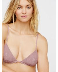 Free People | Essential Triangle Bra | Lyst