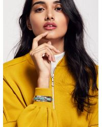 Free People - Far Out Stone Cuff - Lyst