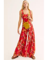 Free People Aloha One Piece By Fp One - Red