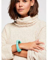 Free People - Harmony Resin Bangle - Lyst
