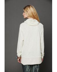 Free People Cocoon Cowl Neck Top - Natural