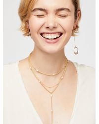 Free People - Dana Point Layering Necklace - Lyst