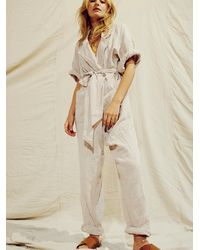 Free People Ootd Jumpsuit By Endless Summer - Natural