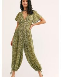 Free People Layla One Piece - Green
