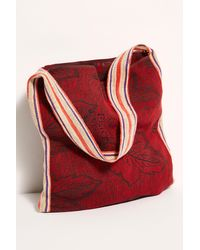 Free People Moa Market Tote - Red