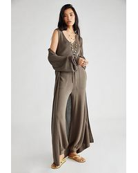 Free People - Living In This Sweater Set - Lyst