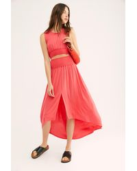 Free People Morningside Co-ord By Fp Beach - Pink