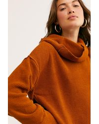 Free People Cozy Sunset Set By Fp Beach - Brown