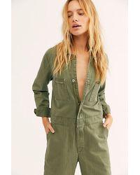 Lee Jeans Union Boilersuit - Green