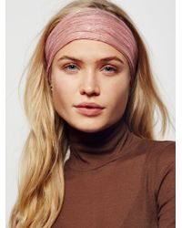 Free People - Fp One Lily Lurex Wideband - Lyst