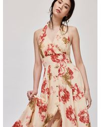 Free People Lovely Light Maxi Dress - Multicolour