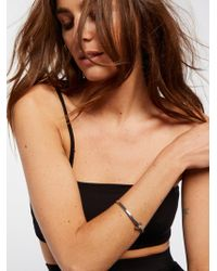 Free People - Metal Open Cuff - Lyst