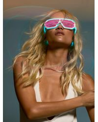 Free People - Midnight Madness Neon Led Glasses - Lyst