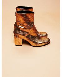 Free People Cecile Ankle Boot - Metallic