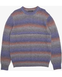 French Connection Space Dye Striped Sweater - Multicolor