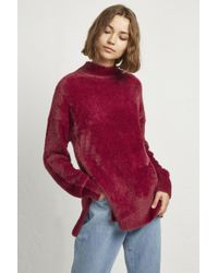 French Connection - Edith Knit Side Split Jumper - Lyst