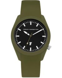French Connection - Parker Style Silicone Watch - Lyst