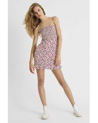 French Connection Ekeze Crepe Strappy Dress - Multicolor