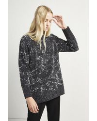 French Connection - Rosemary Sequin Knit Jumper - Lyst