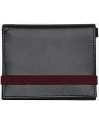 French Connection Leather Card Wallet - Black
