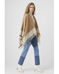 French Connection Blanket Scarf - Natural