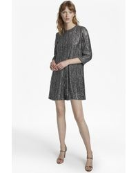 French Connection - Desiree Disco Embellished Playsuit - Lyst