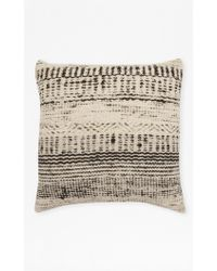 French Connection Woven Skyline Cushion - Multicolour