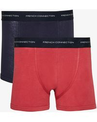 French Connection Premium 2 Pack Boxers - Multicolor