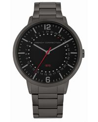 French Connection Gunmetal Watch - Gray