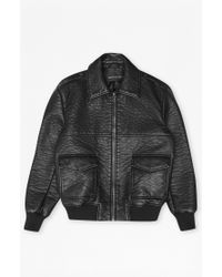 French Connection Mad Max Flight Jacket - Black