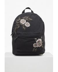 French Connection - Jayne Embroidered Backpack - Lyst