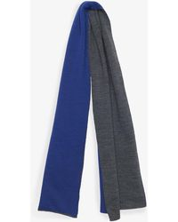 French Connection Fine Knit Scarf - Blue