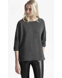 French Connection - Sudan Marl Texture Jumper - Lyst