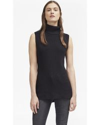 French Connection - Abel Sleeveless High Neck Jumper - Lyst