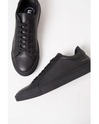 French Connection Lars Logo Sneakers - Black