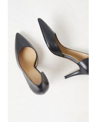 French Connection Selena Cut Out Arched Heels - Black