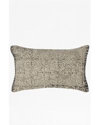 French Connection Rectangle Carpet Cushion - White