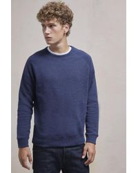 French Connection | Nep Speckled Sweatshirt | Lyst