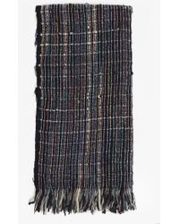 French Connection - Zellar Multicolour Weave Scarf - Lyst