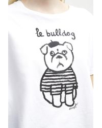 French Connection - Le Bulldog T-shirt - Lyst