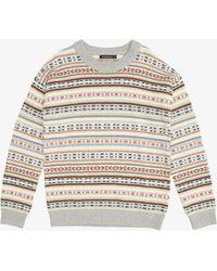 French Connection Fairisle Sweater - Multicolor