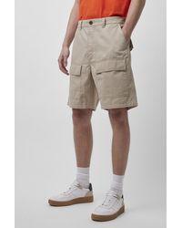 French Connection Herringbone Shorts - Grey